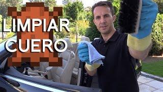 Limpiar el cuero de un coche   CONSEJOS