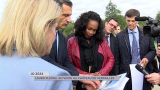 Versailles : la Ministre des Sports en visite pour les JO 2024