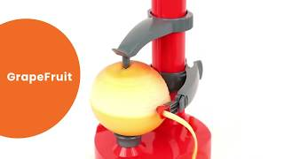 Magic Fruit Peeler - How to Zest without a Zester