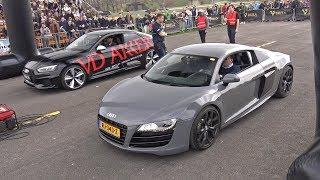 Audi RS5 Coupe vs Audi R8