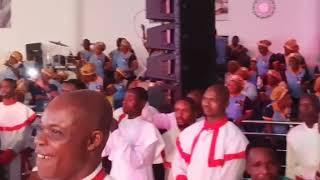 Mega 's Performance @ Remi Awode fine Coat) Father's Wake keep Concert