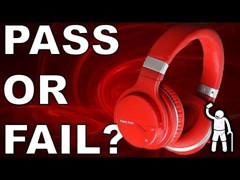 Super Budget Active Noise Canceling Wireless Headphones REVIEW
