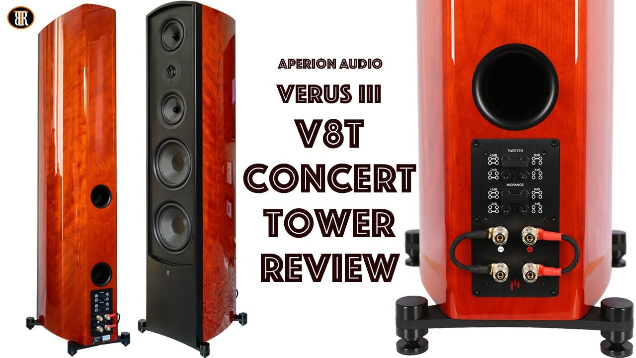 Aperion Audio V8T Concert Tower Review, One Of The Best Buy