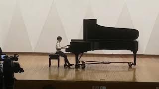 Carl Maria von Weber - Rondo Brilliant Op.62(화려한 론도) 2017년 음악세계결선1위 영산초등학교 3학년 남여울