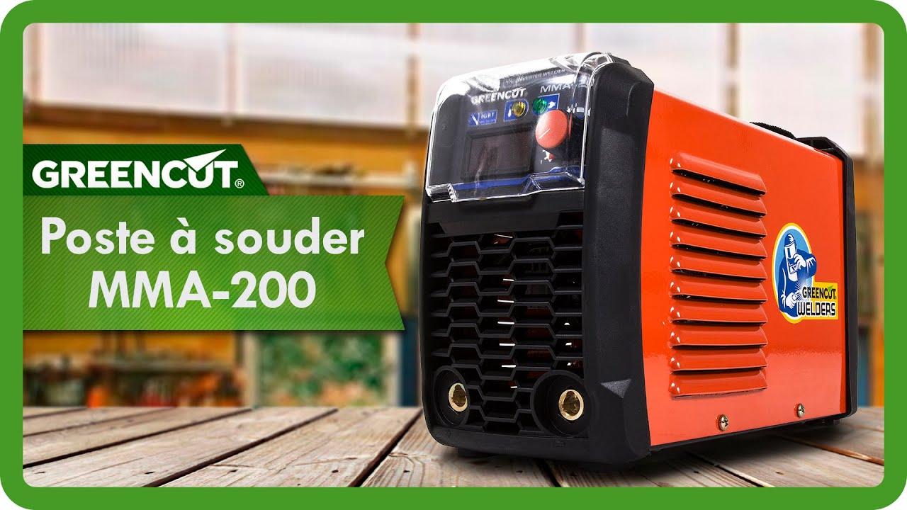 poste souder dc inverter turbo ventil 200 a youtube. Black Bedroom Furniture Sets. Home Design Ideas