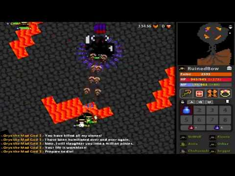 RotMG: Private Server | The Forgotten Realms | New and Improved | Custom  Items |