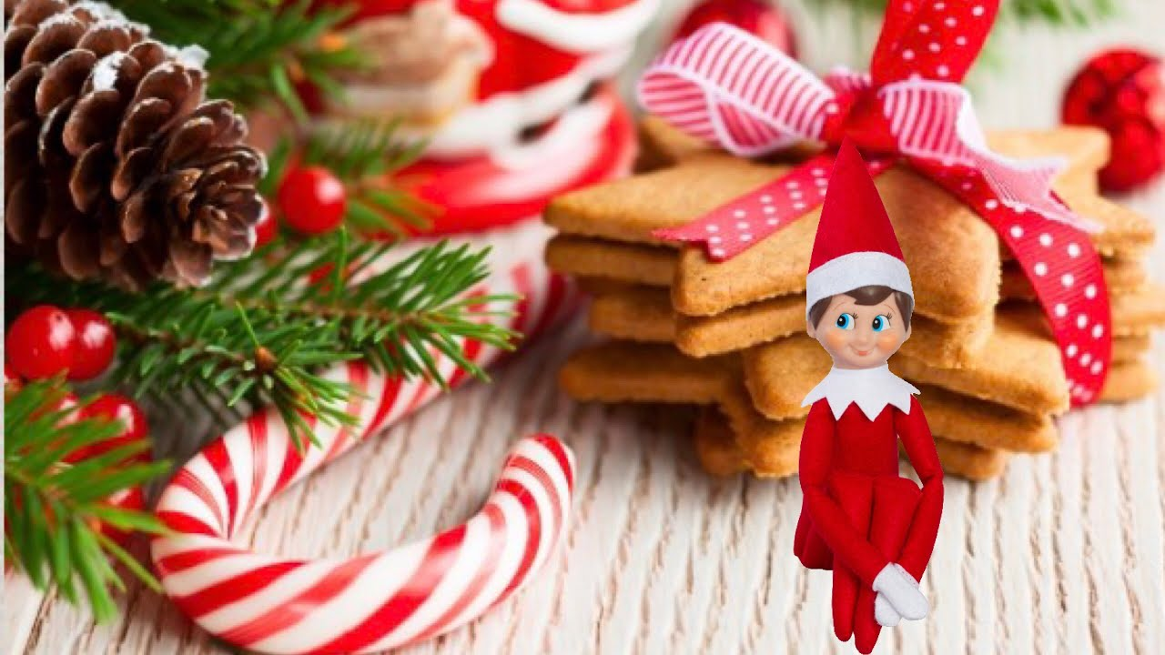 Baking Christmas Cookies Elf On The Shelf Caught Moving 2017