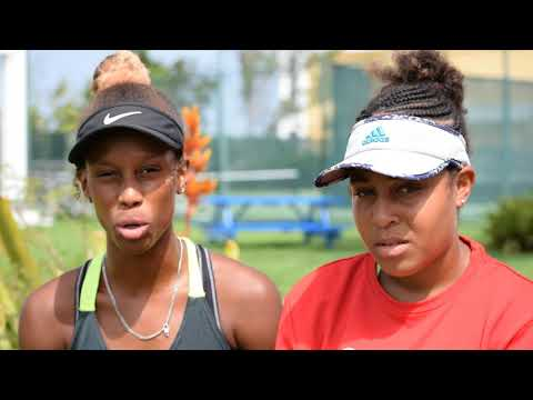 Bahamas Junior Tennis Players: Africa Smith & Sierra Donaldson - ITF interview