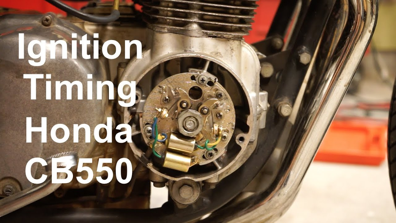 How do I set the ignition on a moped alpha