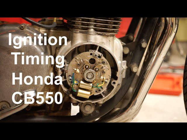 How To Set Ignition Timing on a Honda CB550 - YouTube