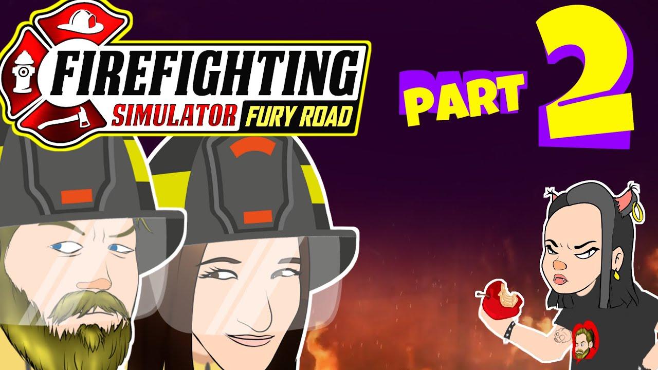 Elraenn, Pqueen, Kendine Müzisyen ve ekipleri.. Firefighting Simulator - Bölüm 2 Animasyon Parodi