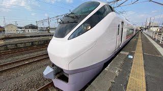 【6倍速車窓左側】657系 東北新幹線救済臨時 常磐線臨時快速 仙台〜いわき