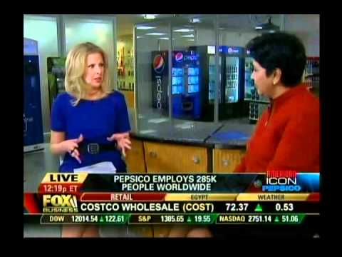 Fox Business' interview with Indra Nooyi