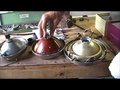 Replacing Your Motorcycles Halogen Headlight Bulb Youtube