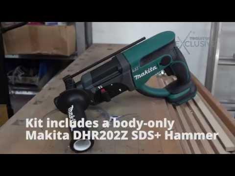 Акумулаторен перфоратор SDS-plus MAKITA DHR202Z #FJ2144V4QPM