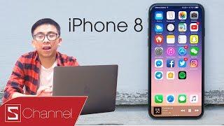 Schannel - Tân Một Cú tổng hợp tin đồn mới nhất iPhone 8: Tích tiền từ bây giờ đi các bạn !!!