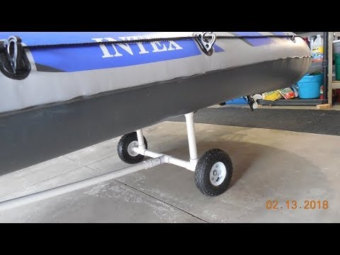 Boat Dolly out of PVC Pipe