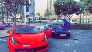 My Dubai Life & 1st Vlog of SuperCars فلوق حياتي في دبي وجنون السيارات - Ali Al-Hamoudi On Cars