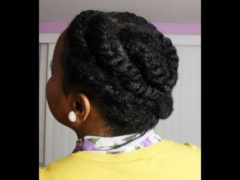flat twist protective hairstyle