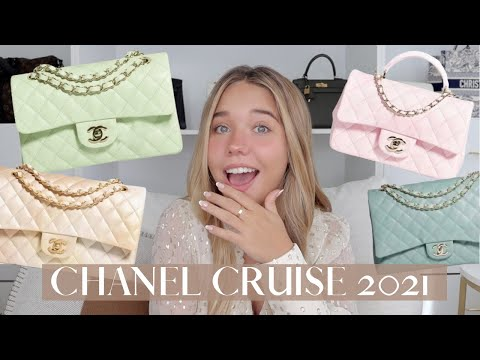 CHANEL CRUISE 2022 NEW COLLECTION | I'M IN LOOOOVE WITH THE GREEN