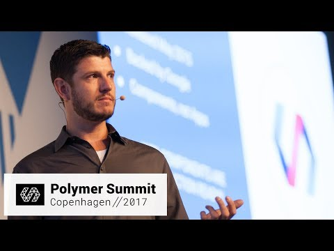 Building UI at Enterprise Scale with Web Components (Polymer Summit 2017)