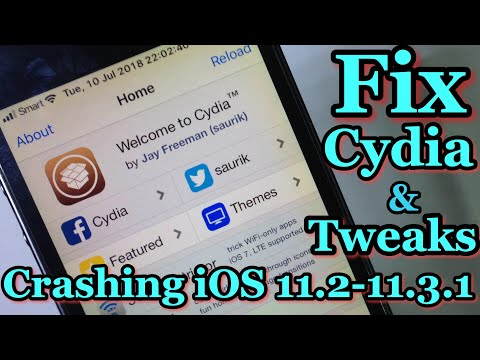 2 Way Fix Cydia & Tweaks Not Working on iOS 11.2 - 11.3.1 Electra Jailbreak