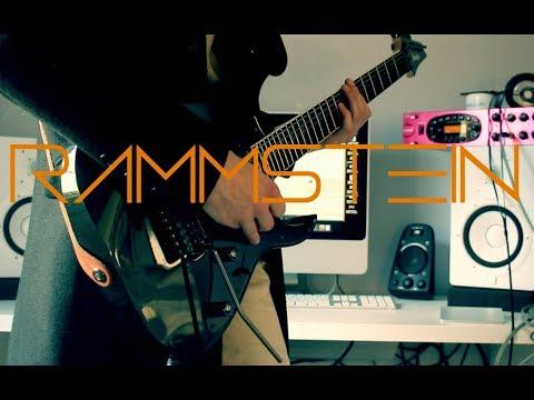 Rammstein - Rammstein (Live) Guitar cover by Robert Uludag/Commander Fordo