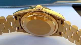 WATCHTECH Professional Watch Polishing - Rolex Day-Date President
