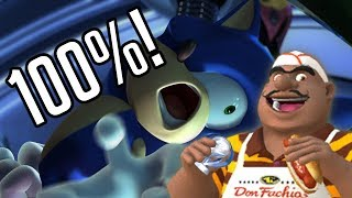 Sonic Unleashed - 100% Playthrough! #11 [Hot Dog Missions!]