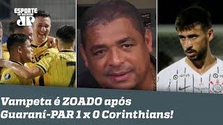 Vem VEXAME? OLHA o que Vampeta falou após DERROTA do Corinthians pro Guaraní-PAR!