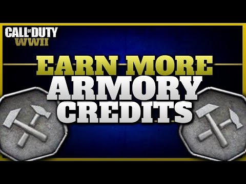 How I Earn 2000+ Armory Credits per day in CoD WW2!