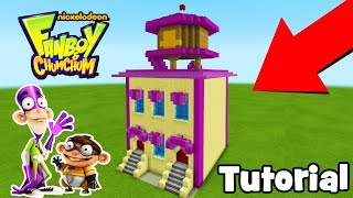 "Minecraft Tutorial: How To Make The Fanlair ""Fanboy & Chum Chum"""