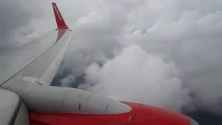 Air Berlin Boeing 737-700 HAM-STR Appraoch and Landing Part 4/5