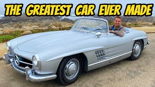 homepage tile video photo for This $1.3 million Mercedes 300SL roadster made me cry tears of joy (I LITERALLY CRIED)