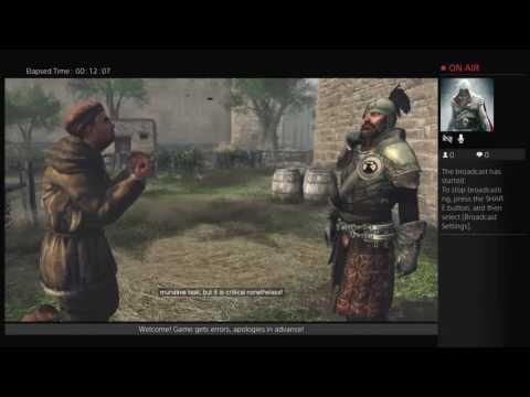 (HD) Assassin's Creed 2 Gameplay Walkthrough PS4 Pro -100% Sync - Part 9