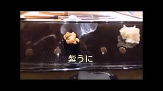 (ランチまとめ)銀座久兵衛 40秒でわかる1万円コース