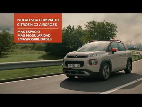 Anuncio Citroën C3 Aircross 2018