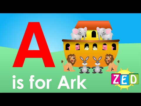 Best ABC Alphabet Song A is for Ark (Zed version)