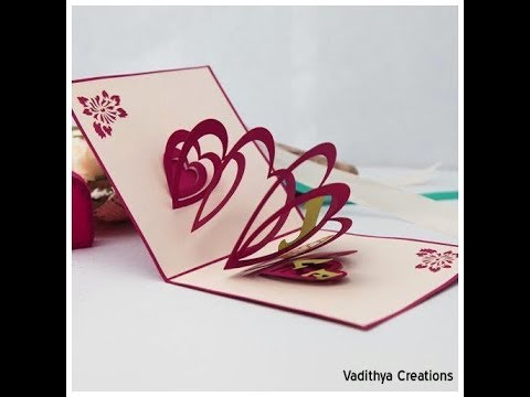 How To Make A Greeting Card Diy Paper Crafts How To Make A