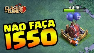 O OBVIO ACONTECEU NO CLASH OF CLANS!
