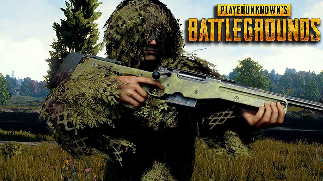 46 Best Free Playerunknown S Battlegrounds Wallpapers: Playerunknown's Battlegrounds Gameplay- AWM SNIPER