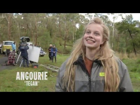 Nowhere Boys: The Book Of Shadows - Tegan - Behind The Scenes