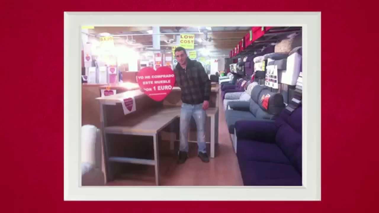 muebles a 1 euro en muebles boom vitoria gasteiz abril