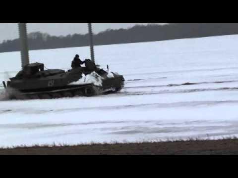танкист на рыбалке