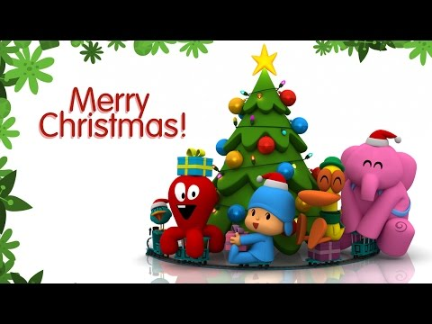 Pocoyo wishes you happiness and joy for Christmas