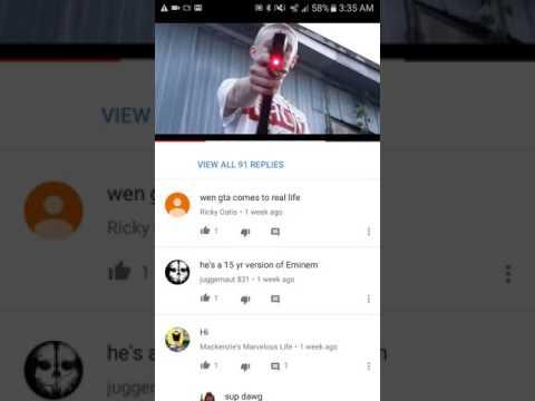 Funny youtube comments #1 slim jesus!
