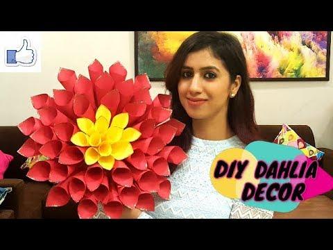 DIY DAHLIA DECOR