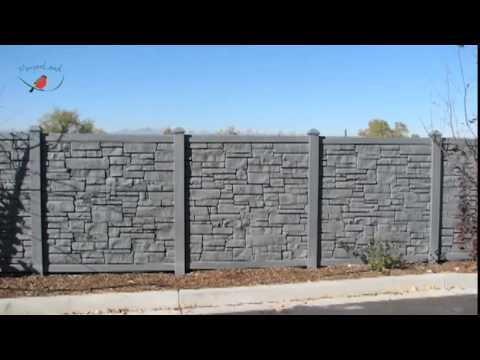 Betonzaun Hornbach betonzaun montage betmar betonzaun