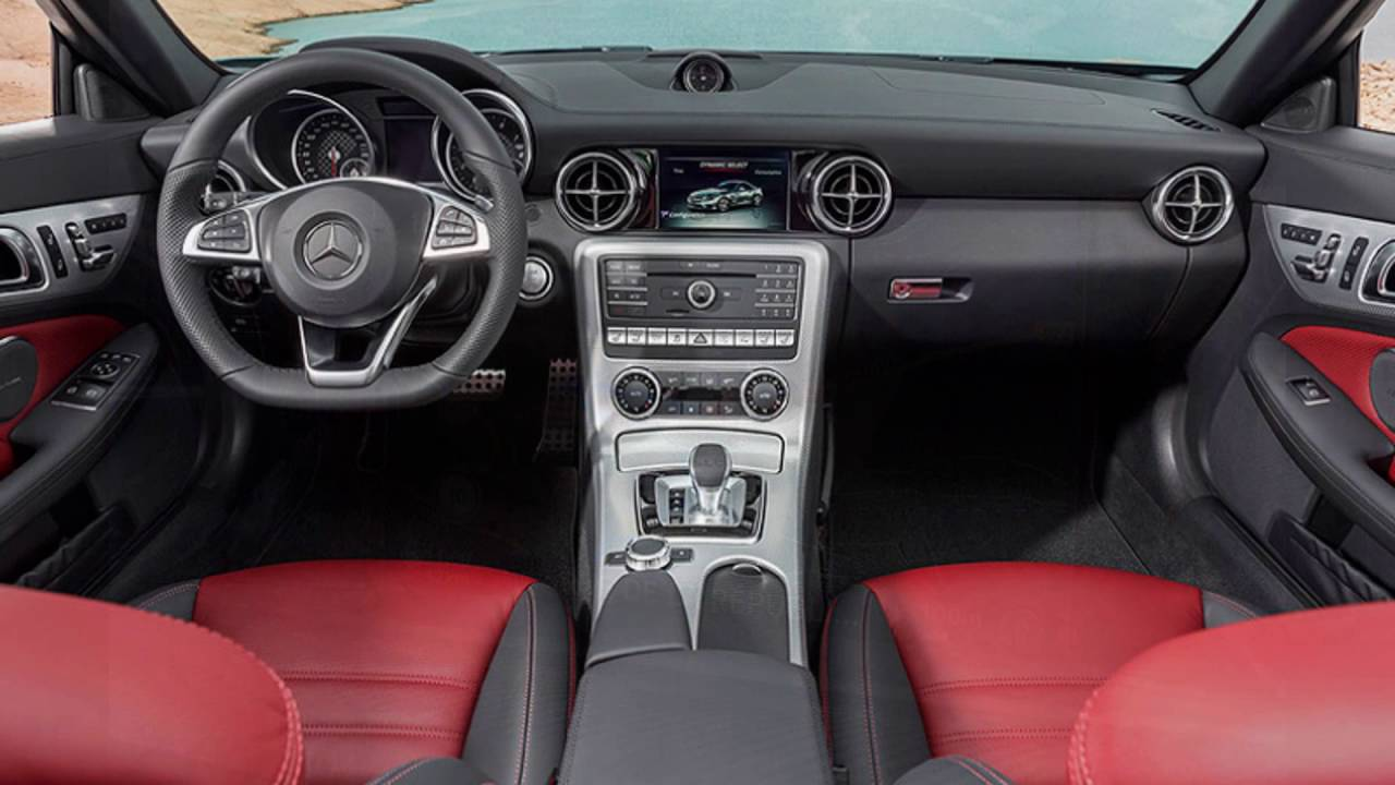 2016 Mercedes SLC 300 Interior YouTube