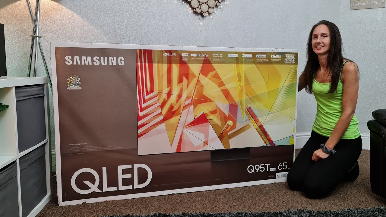 Samsung Q95T (Q90T) unboxing,tour,demo with PS5,+ GIVEAWAY!